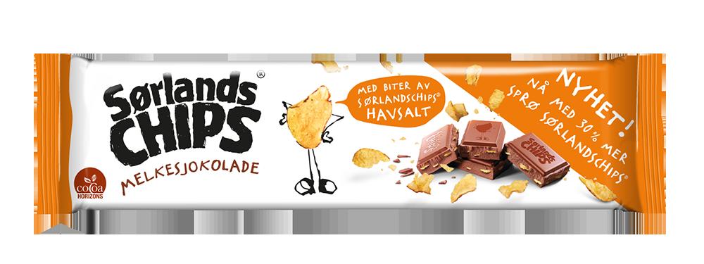 Melkesjokolade-chips-150g